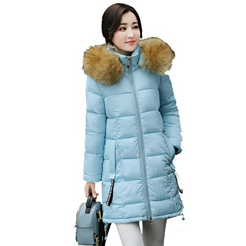 Section Student nihiug Female Outwear Eiderdown Coat Loose Cotton Long Winter Coat Down A Thickened Down Jacket yTr07vTwq
