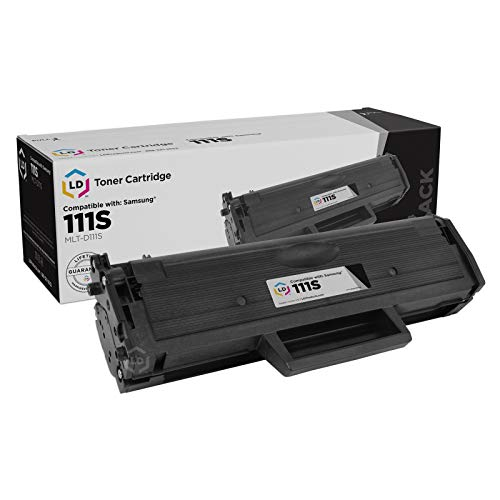 LD Compatible Toner Cartridge Replacement for Samsung MLT-D111S (Black)