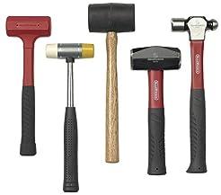 GEARWRENCH 82303D 5 Piece Hammer Set