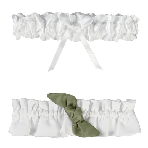 Ivy Lane Design Love Knot Garter Set, ()