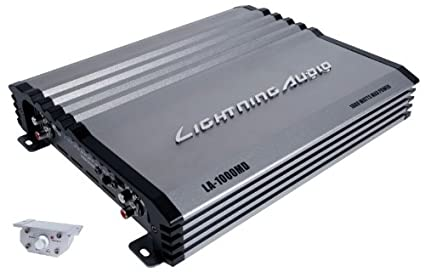 Amazon.com : Lightning Audio La-1000md 1, 000 Watt Mono Digital Amplifier : Electronics