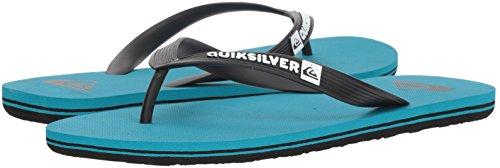 Quiksilver Men's Molokai Sandal, Black/Blue/Blue, 13 M US by Quiksilver (Image #5)