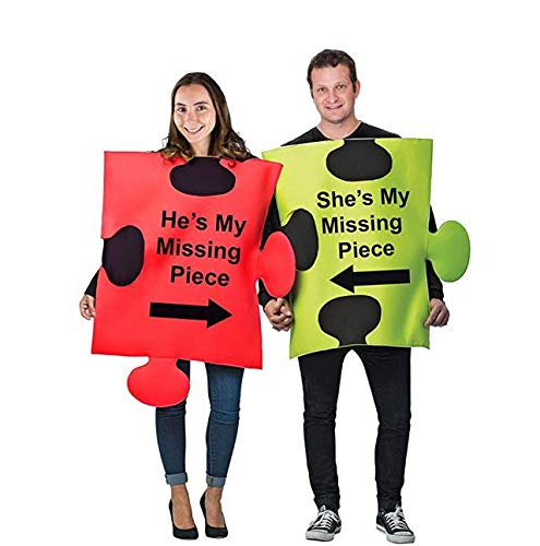 Tigerdoe Puzzle Piece Costume - Couple Costumes - Funny Adult Costumes - Novelty Costumes ...]()
