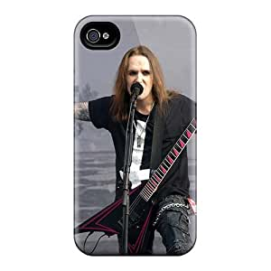 Iphone 4/4s MjQ3974SmvG Provide Private Custom Lifelike Children Of Bodom Band Series Protective Hard Phone Cover -JamieBratt