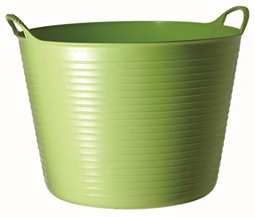 TubTrug SP42PST Large Pistacio Flex Tub, 38 Liter