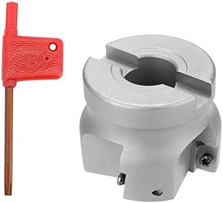 KM12R63-22-4T Carbide Insert Gespannt Feeding Schnelle Alloy End Machining Drehbank ZubehöR Schaftdrehmaschine (Color : Silver)