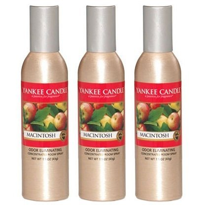 Fragrant Kitchen Spray (Yankee Candle Concentrated Room Spray 3-PACK (Macintosh))