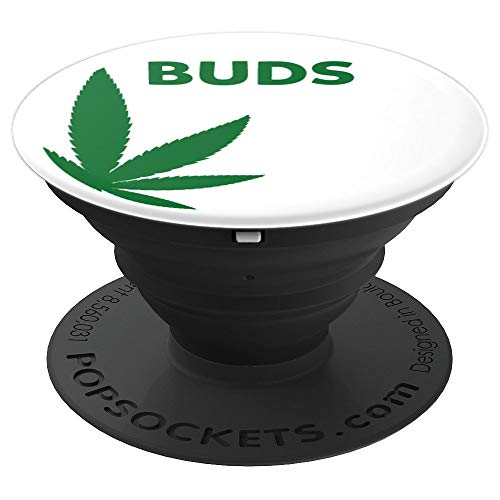 (Matching BFF Couples Buds Marijuana Costume themed - PopSockets Grip and Stand for Phones and Tablets)