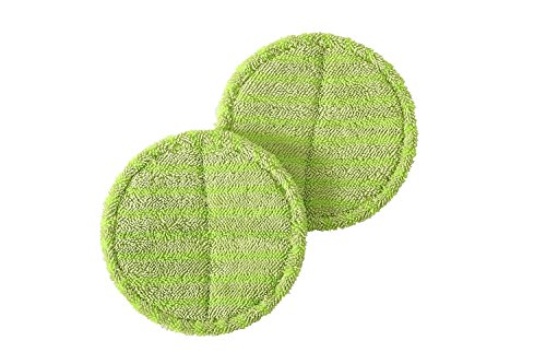 DOCHEER Replacement Pads for Cordless Electric Spinning Mop Sweeper