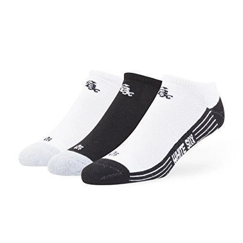 MLB Chicago White Sox '47 Brand Float Team Color No Show Socks, Large (Men's 9-13 / Women's 10-12), 3-Pack