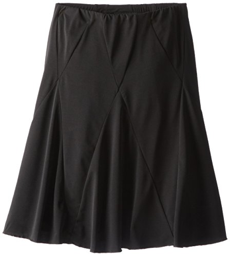 Amy Byer Girls' Big Picture Perfect Diamond-Seamed Skirt, Black -