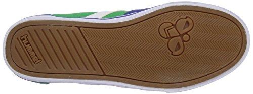 hummel HUMMEL SL STADIL CANVAS LO - zapatilla deportiva de lona unisex verde - Grün (Fern Green 6029)