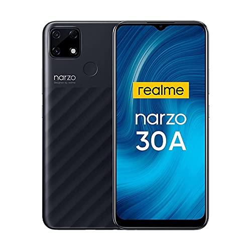Realme Narzo 30A Smartphone ohne Vertrag 6000mAh Akku 18W Schnellladung Type-C 6,5