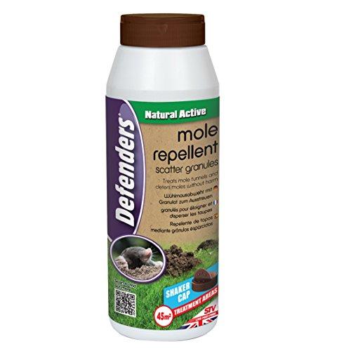 STV International Defenders Mole Repellent Scatter Granules (Humane,...