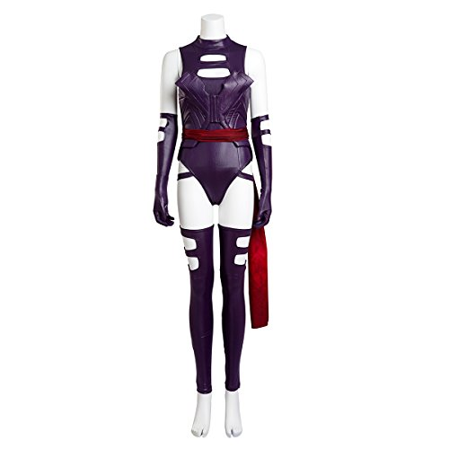 HZYM-Womens-X-Men-Apocalypse-Psylocke-Cosplay-Costume-Jumpsuits-Purple
