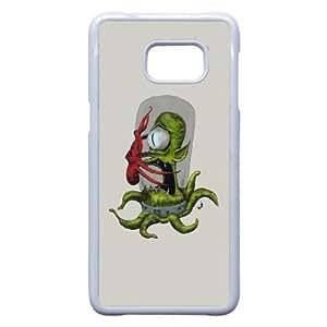 Samsung Galaxy S6 Edge Plus Phone Case White Colored Aliens VMN8173754