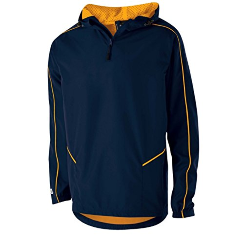 Holloway Wizard Adult Pullover (XXX-Large, Navy/Light Gold)