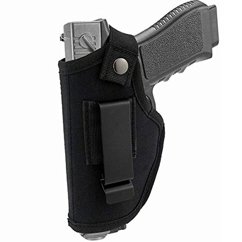 CRUSHUNT Concealed Carry Holster for The Waistband Holster Universal Right and Left Hand Fits Subcompact to Large Handguns