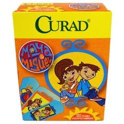 DDI - Curad Maya & Miguel 20 Count Assorted Bandages (Cases of 24 items)