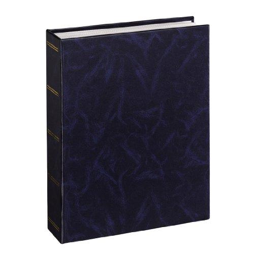 Hama Einsteckalbum Birmingham (geeignet für 100 Fotos im Format 13 x 18) blau