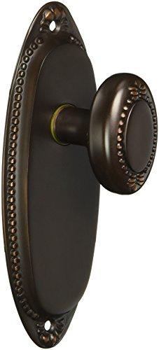 - Lydian Door Set with Beaded Oval Knobs Passage Oil-Rubbed Bronze. Unique Door Knobs.