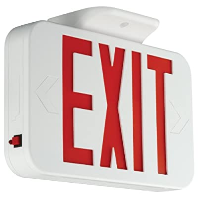 Compass CER Hubbell Lighting LED Emergency Exit Sign