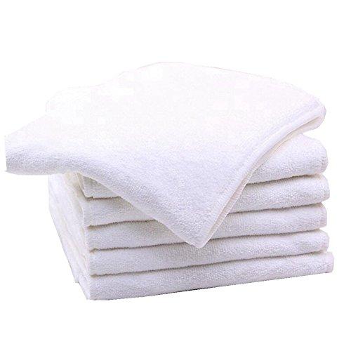 Bambú microfibra Insertos Liners para adultos pañales de tela para cuidado de incontinencia, absorbente, lavable, reutilizable, grande de 4 capas Talla:1: ...