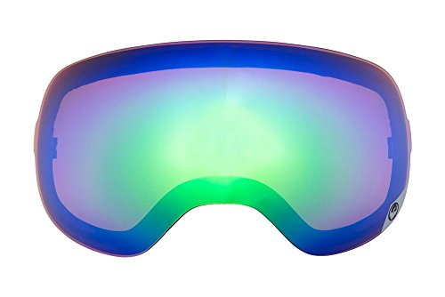 Dragon X2 Snow Goggle Replacement Lens - Green Ionized - Lens Dragon Ionized