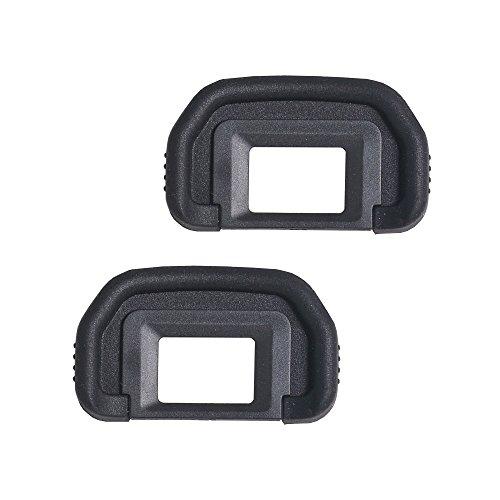 Bestshoot [2 Pack] EF Viewfinder Eyepiece Eyecup Eye Cup Rubbe for Canon EOS 1100D 600D 550D 500D 450D 400D 350D 300D T6s T6i T6 T5i T5 T4i T3i T3 T2i XTi XSi XS DSLR Cameras ()