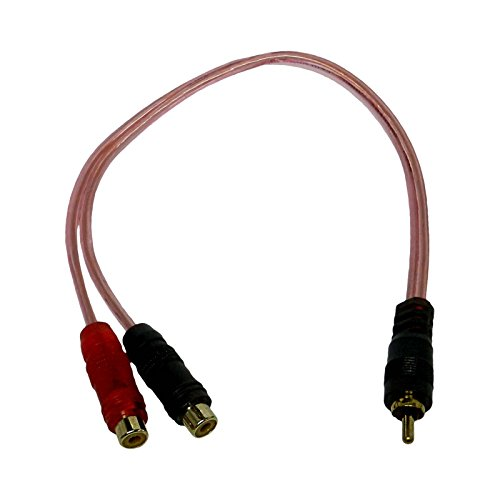 Bass Rockers Bulk 10 Pack RCA Y-Splitter Cables (1 Male to 2 Female) - BRC2F1M by Bass Rockers (Image #5)