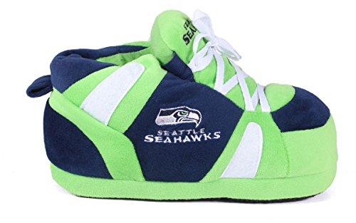 Piedi Felici E Piedi Comodi - Pantofole Da Uomo E Da Donna Con Licenza Ufficiale, Seattle Seahawks