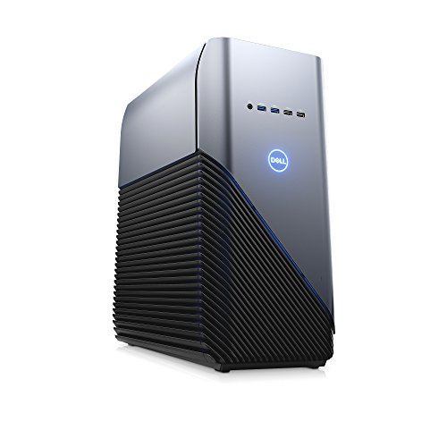 Dell i5680-5414BLU-PUS Inspiron Gaming Desktop 5680, Intel Core i5 8400 (6-Core/6-Thread, 9MB Cache, up to 4GHz w/Intel TB Technology), 8GB DDR4 2666MHz (8Gx1), NVIDIA Gtx1050Ti, 1TB SATA 7200RPM HDD