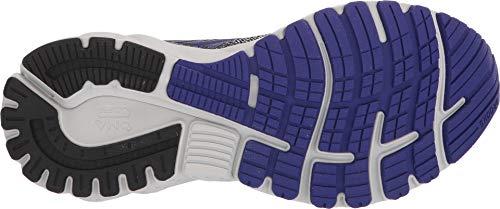 Brooks Women's Adrenaline GTS 19 Black/Purple/Grey 5 B US by Brooks (Image #2)