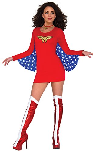 Rubie's Costume Co Women's Dress, Wonder Woman, Medium-Large -