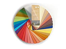 Color Swatch Fan Warm Spring / Warm Autumn with 35 Colors for Color Analysis and Image Consulting