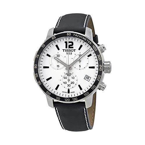 (Tissot Men's T0954171603700 Quickster Analog Display Swiss Quartz Black Watch)