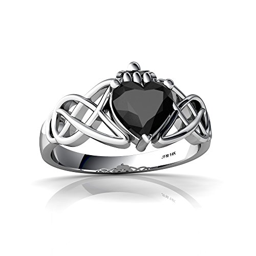 925 Sterling Silver Real Genuine Garnet and Real Diamond Accented Womens Trilogy Anniversary Ring