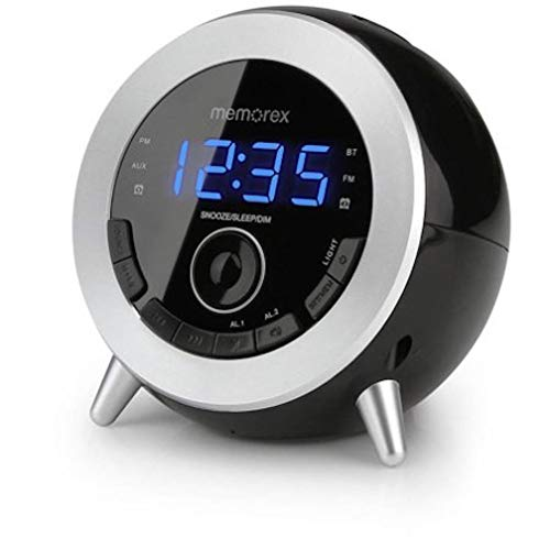 Memorex Bluetooth Clock Radio with USB Charging (Memorex Ihome)
