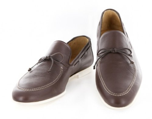 New Sutor Mantellassi Brown Shoes 12/11