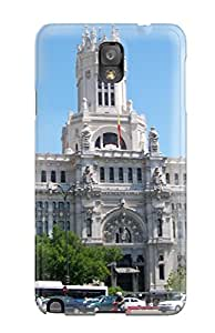 Sean Moore shop Galaxy Case - Tpu Case Protective For Galaxy Note 3- Madrid City 4992365K26016456