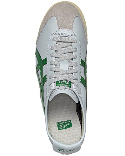 Asics Mexico 66 Sneakers, Scarpe da Ginnastica Basse Unisex-Adulto light grey-green (D4J2L-1384)