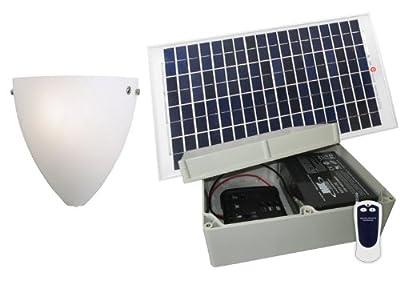 Solar Illuminations Indoor Solar Lighting System (Glass Wall Sconce)