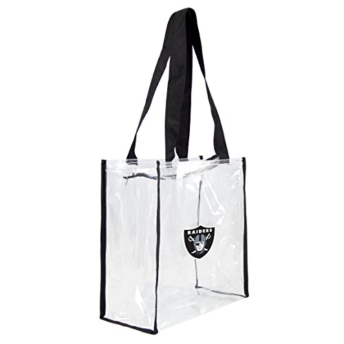 (NFL Oakland Raiders Clear Square Stadium Tote)