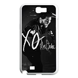 C-EUR Diy Phone Case The Weeknd XO Pattern Hard Case For Samsung Galaxy Note 2 N7100 WANGJING JINDA