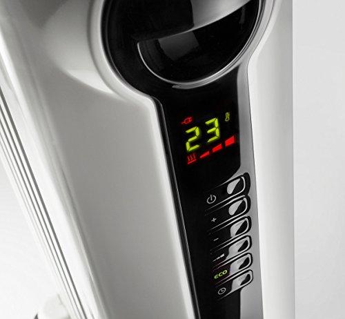 Delonghi TRRS0715ECA Radia Eco, Full Room Radiant Heater, White