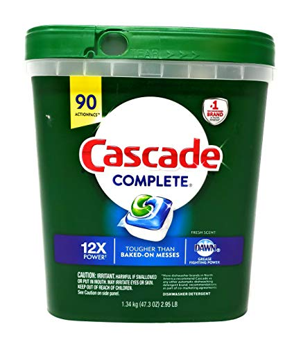 Cascade Complete Action Pacs 90 Count