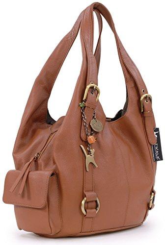 Catwalk Bolso Grande ALEX de Handbags Cuero Collection Marrón hombro CATWALK COLLECTION qrwxXnr7zI