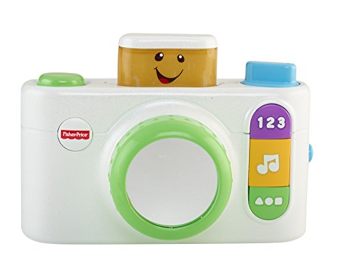 Fisher-Price Laugh & Learn Click 'n Learn Camera, White by Fisher-Price (Image #1)