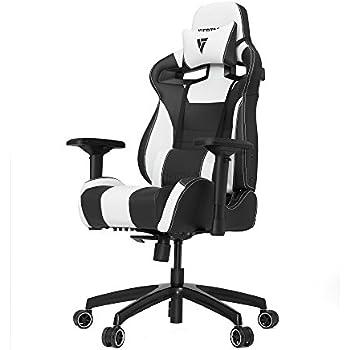 Vertagear S-Line SL4000 Racing Series Gaming Chair - Black/White (Rev. 2)