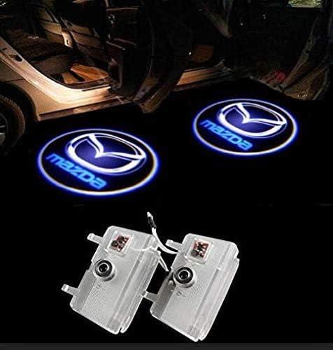 Sunshine Fly 2 Stück Einstiegsbeleuchtung Türbeleuchtung Autotür Logo Türen Projektion Einstiegsleuchte Willkommen Dekorative Geist Lampe 3d Emblem B Auto